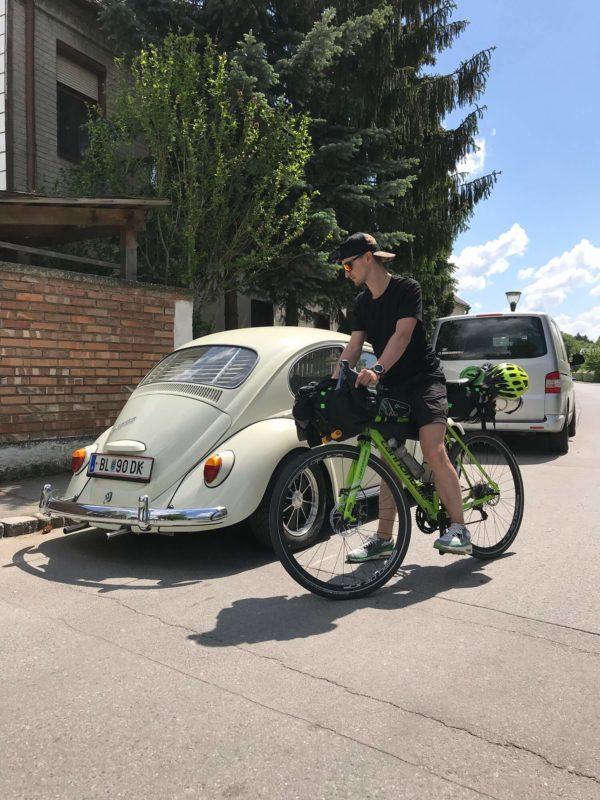 Тарас Белый: велотуризм